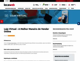 webstorelw.com.br screenshot