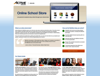 webstores.activenetwork.com screenshot