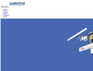 webstral.com screenshot