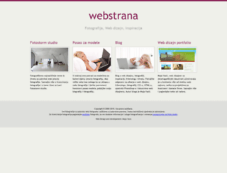 webstrana.com screenshot
