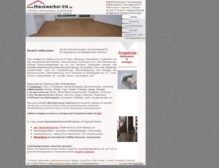 webstrand.de screenshot