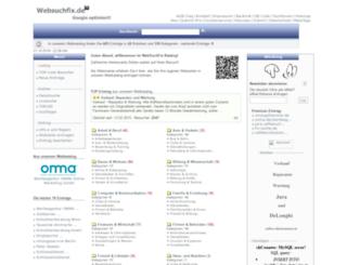 websuchfix.de screenshot