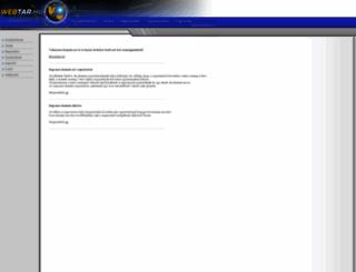 webtar.hu screenshot
