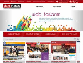 webtasarim.ajansmanisa.com screenshot