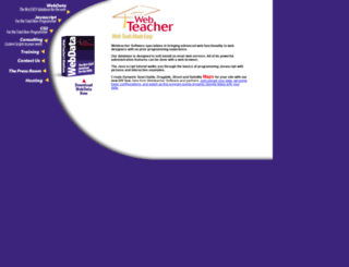 webteacher.com screenshot
