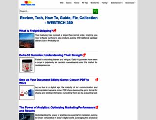 webtech360.com screenshot