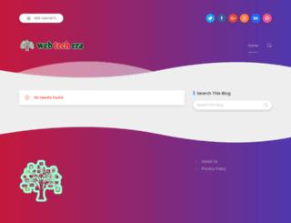 webtechera.com screenshot