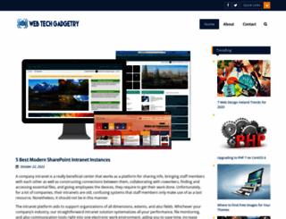 webtechgadgetry.com screenshot