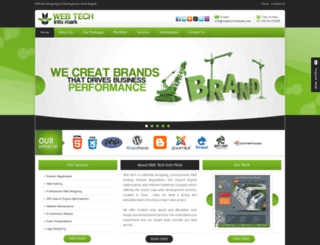 webtechinfomark.com screenshot