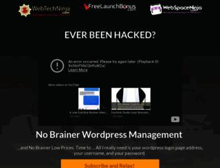 webtechninja.com screenshot