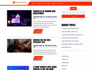 webtechschools.com screenshot