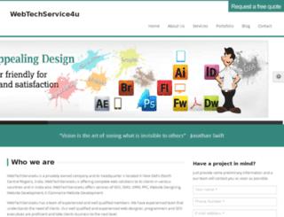 webtechservice4u.com screenshot