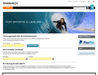 webteile24.de screenshot