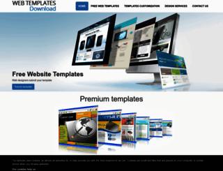webtemplates-download.com screenshot