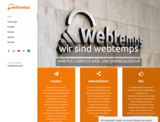webtemps.de screenshot