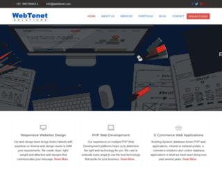 webtenet.com screenshot