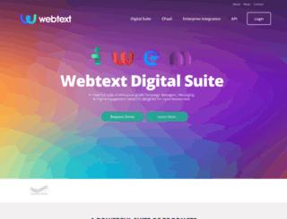 webtext.com screenshot