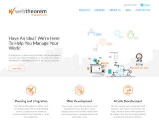 webtheorem.com screenshot