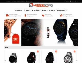 webtimeorologi.it screenshot