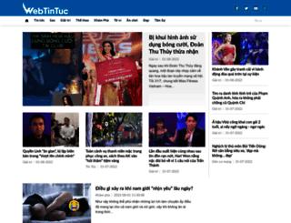 webtintuc.com screenshot
