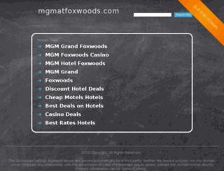 webtixs.mgmatfoxwoods.com screenshot