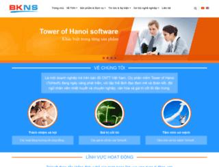 webtoh.bkns.biz screenshot