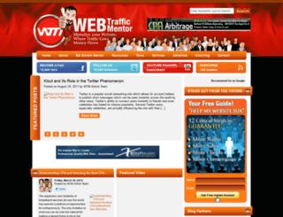 webtrafficmentor.com screenshot
