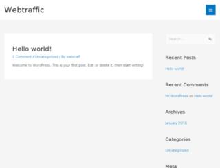 webtrafficseeker.com screenshot