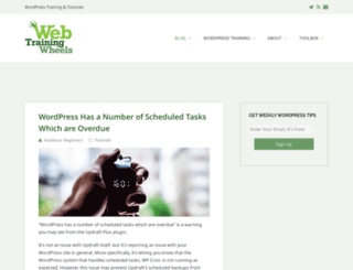 webtrainingwheels.com screenshot