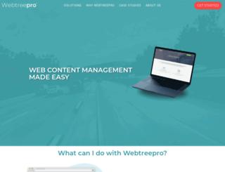 webtreepro.com screenshot