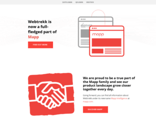 webtrekk.com screenshot