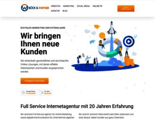 webtrend.at screenshot