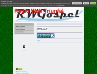 webtriunfal.jimdo.com screenshot