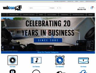 webtron-x.com screenshot