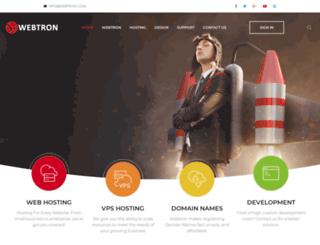 webtron.co.za screenshot