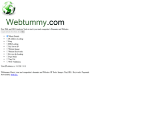 webtummy.com screenshot