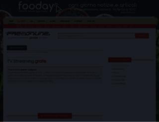 webtv.freeonline.it screenshot