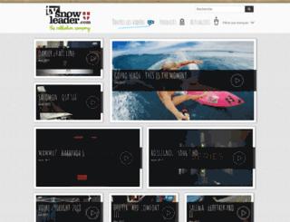 webtv.snowleader.com screenshot