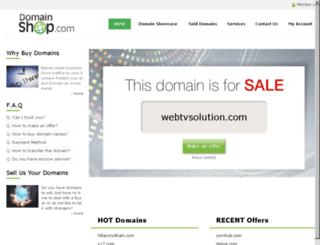 webtvsolution.com screenshot