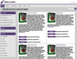 webtweaktools.com screenshot