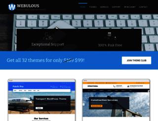 webulous.in screenshot