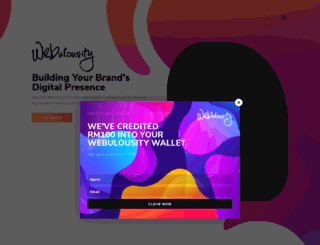 webulousity.com screenshot