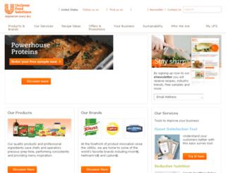 webupdater.unileverfoodsolutions.com screenshot