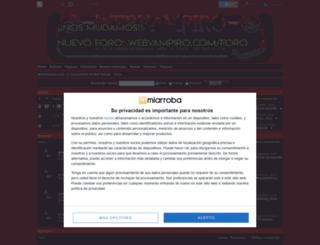 webvampiro.mforos.com screenshot