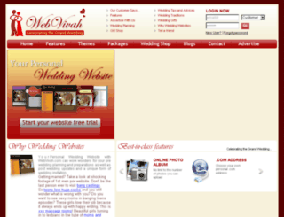 webvivah.com screenshot