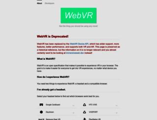 webvr.info screenshot