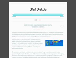 webvriksha.wordpress.com screenshot