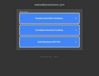webwalkersolutions.com screenshot
