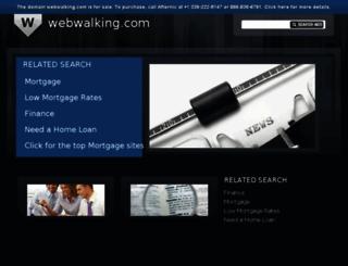 webwalking.com screenshot