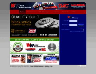 webwarehouse.imcparts.net screenshot
